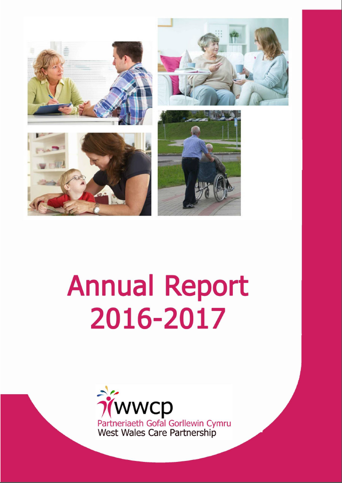 WWCP Annual Report cover