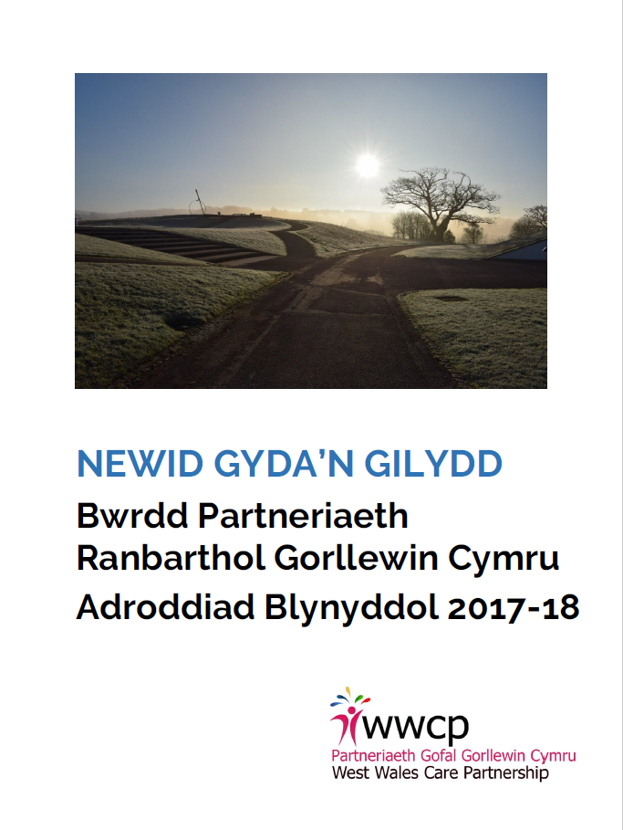 Front Cover Welsh