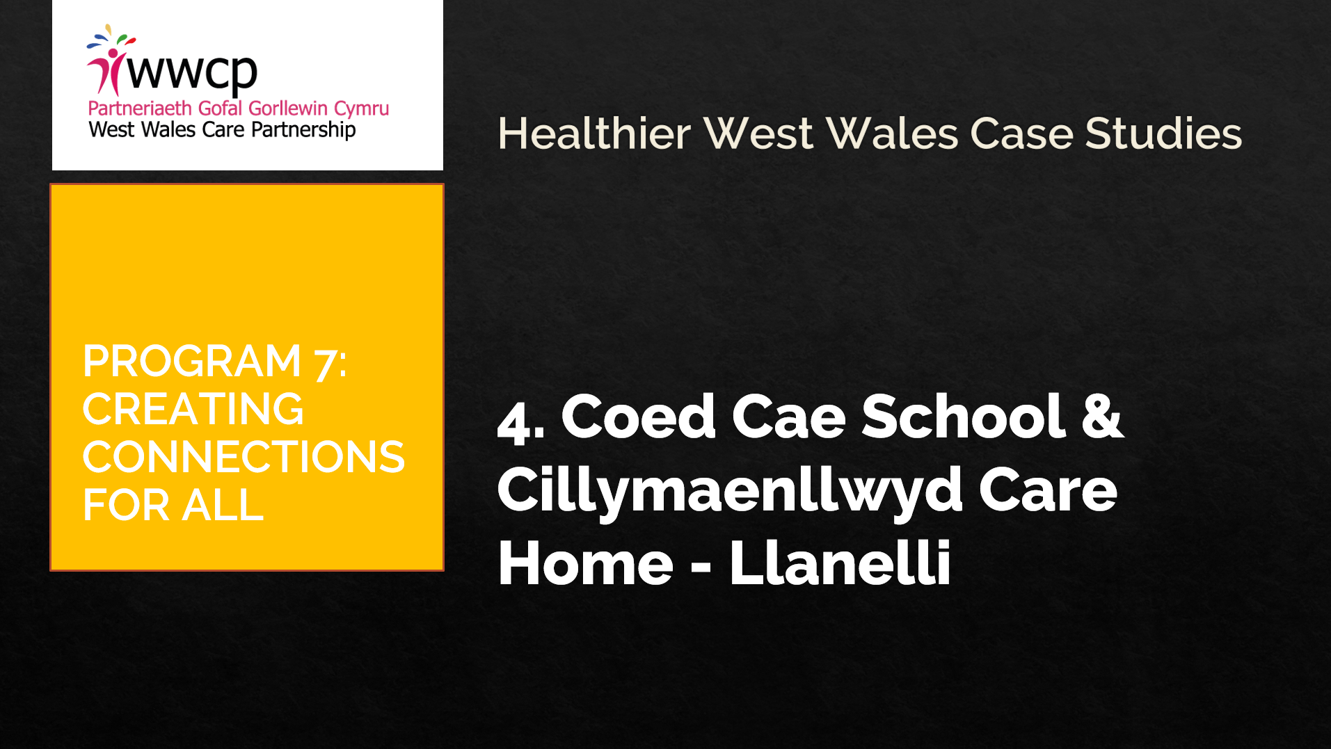 4 Coed School and Care home